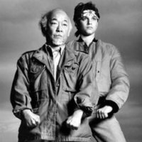 Mr. Miyagi and Daniel in the Karate Kid, Fishbowl Blog