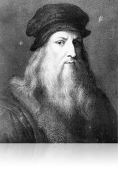 Portrait of Leonardo da Vinci, Fishbowl Inventory Blog