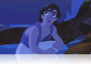 Aladdin is they copyright of Walt Disney Pictures, Fishbowl Inventory Blog