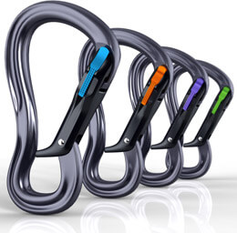 Black Diamond Equipment carabiners, Fishbowl Inventory Blog