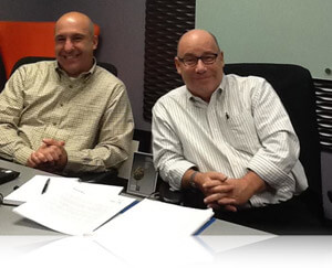 Sal Cucinella and Mark Linden, leaders of Sharpe Concept, Fishbowl Inventory Blog