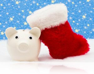 Christmas stocking and piggy bank, Fishbowl Inventory Blog