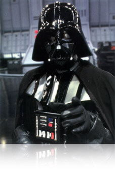 Darth Vader from Return of the Jedi, Fishbowl Inventory Blog