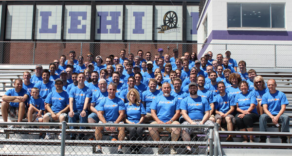 Group photo at the 5th annual Fishbowl Day of Service, Fishbowl Inventory Blog