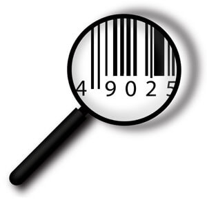 Magnifying glass on a barcode, Fishbowl Inventory Blog