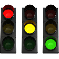 Red means stop, yellow means caution, and green means go in order management, Fishbowl Blog