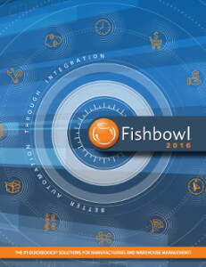 The Fishbowl 2016 corporate brochure is filled with useful information about Fishbowl products, Fishbowl Blog