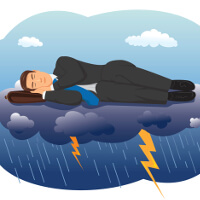 Can you sleep through a storm? Fishbowl Blog