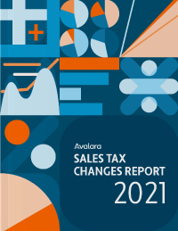 Avalara has a 2021 Sales Tax Changes Reports to help businesses.