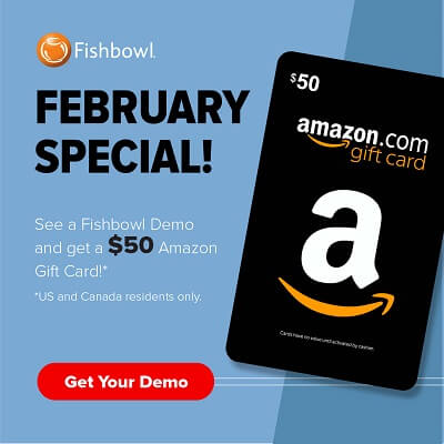 Get a $50 Amazon gift card when you see a Fishbowl demo in February, Fishbowl Blog