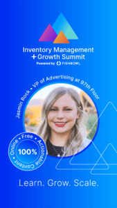 Jasmin Rock is a presenter at the Inventory Management + Growth Summit.
