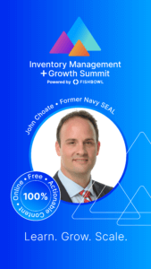 John Choate is a presenter at the Inventory Management + Growth Summit.