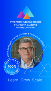 Vince DeAngelis is a presenter at the Inventory Management + Growth Summit.