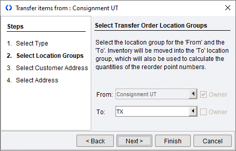 Select Transfer Order Location Group.png